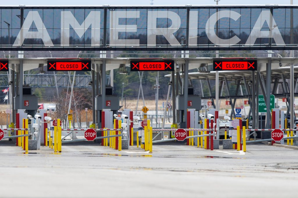 u.s. border crossing