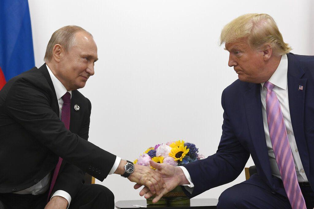 Trump and Putin, Putin and Trump