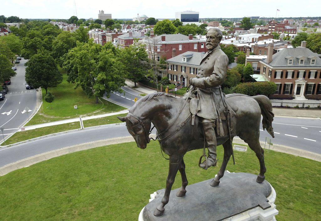 Robert E. Lee statue Richmond