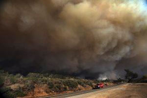 california lightning wildfires