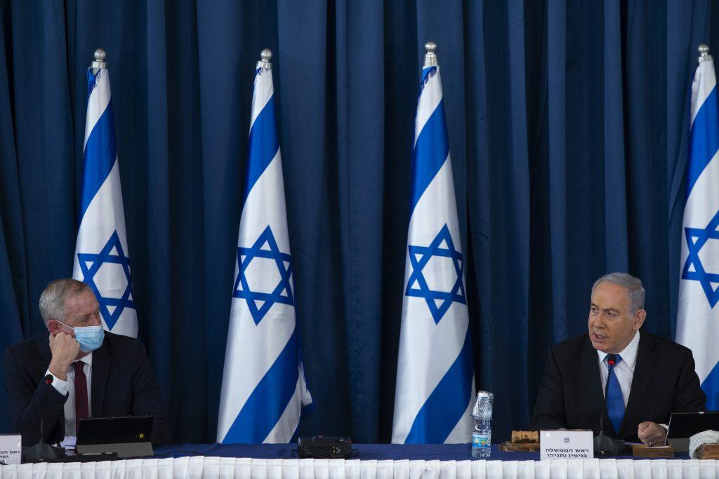 netanyahu gantz prime minister