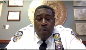 NYPD High Holy Days briefing