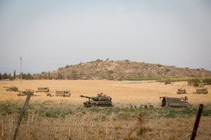 IDF Winds Up Simulated Multi-Front War