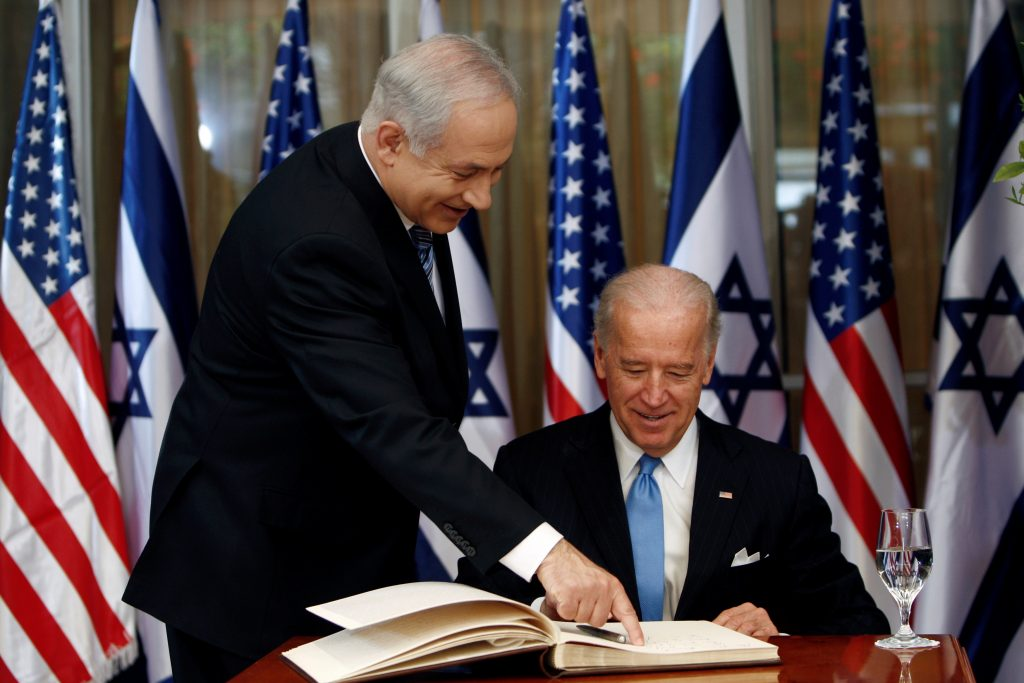 Israel's Netanyahu Congratulates Biden, Thanks Trump