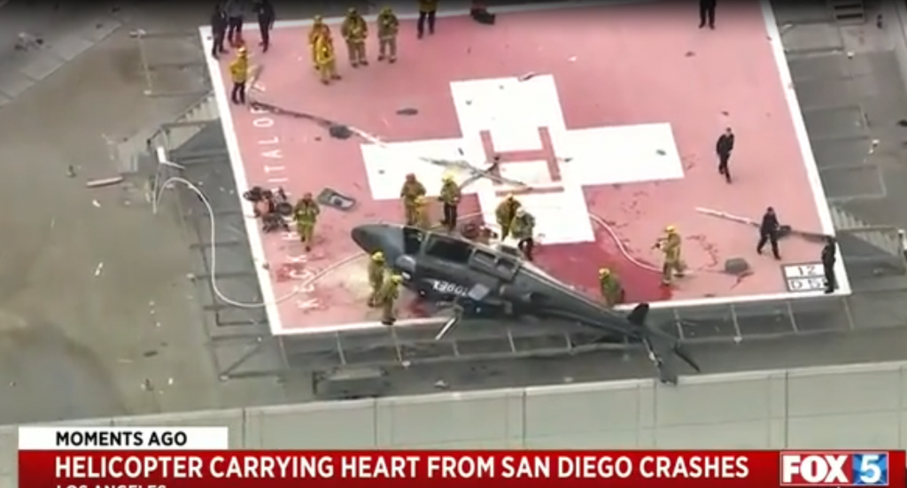 helicopter heart crash