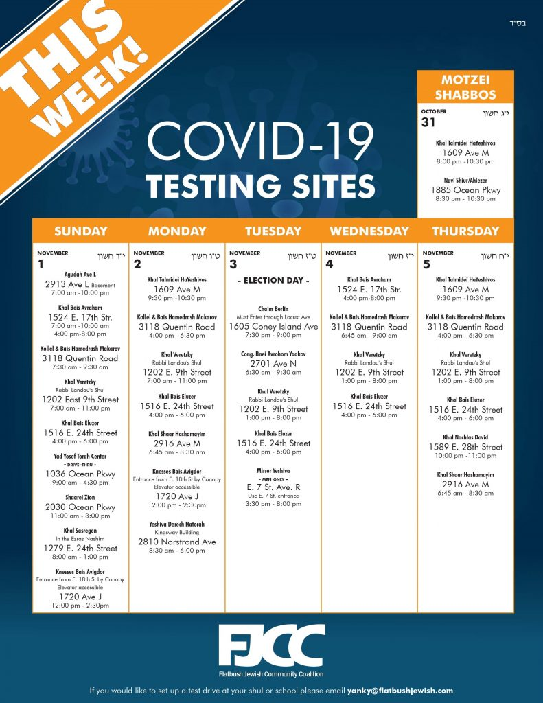 flatbush covid testing