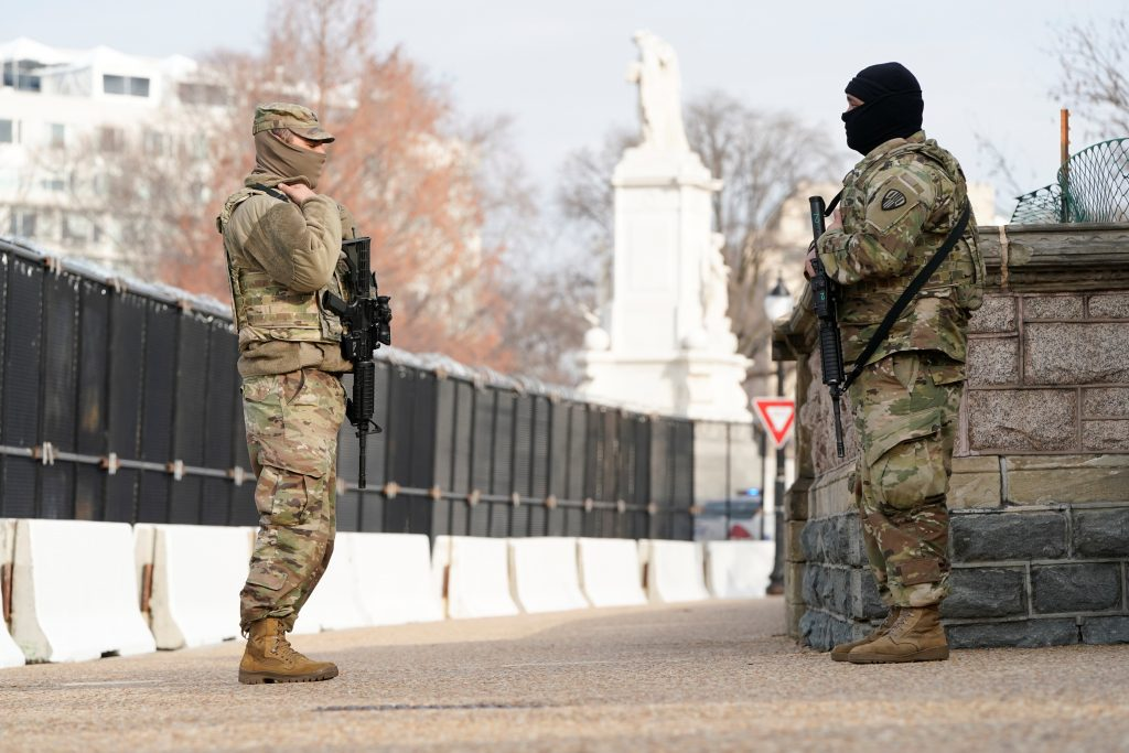 biden inauguration security protests