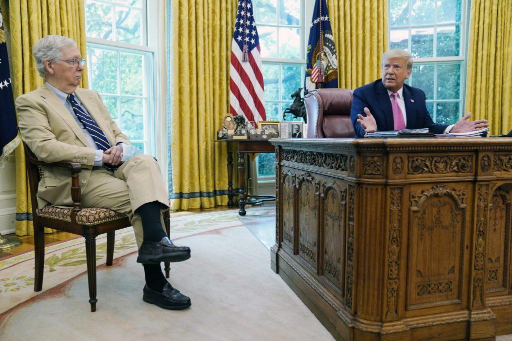 mcconnell trump impeachment