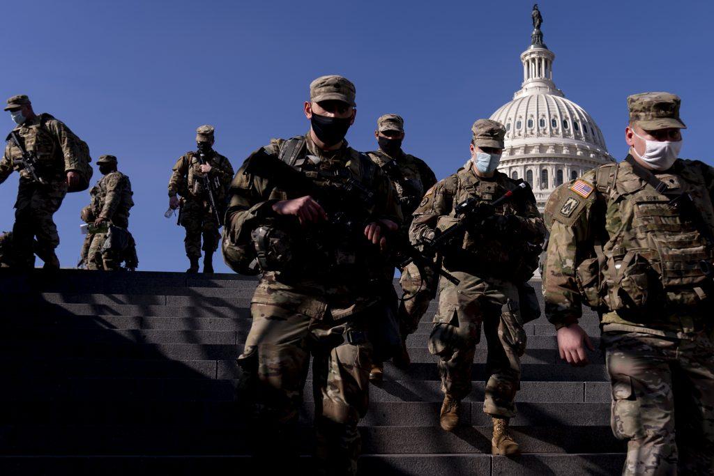 national guard washington protests