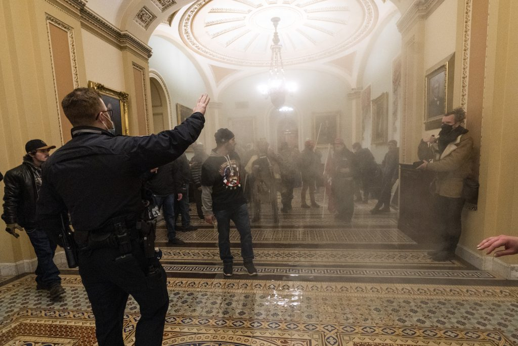 capitol police national guard riots