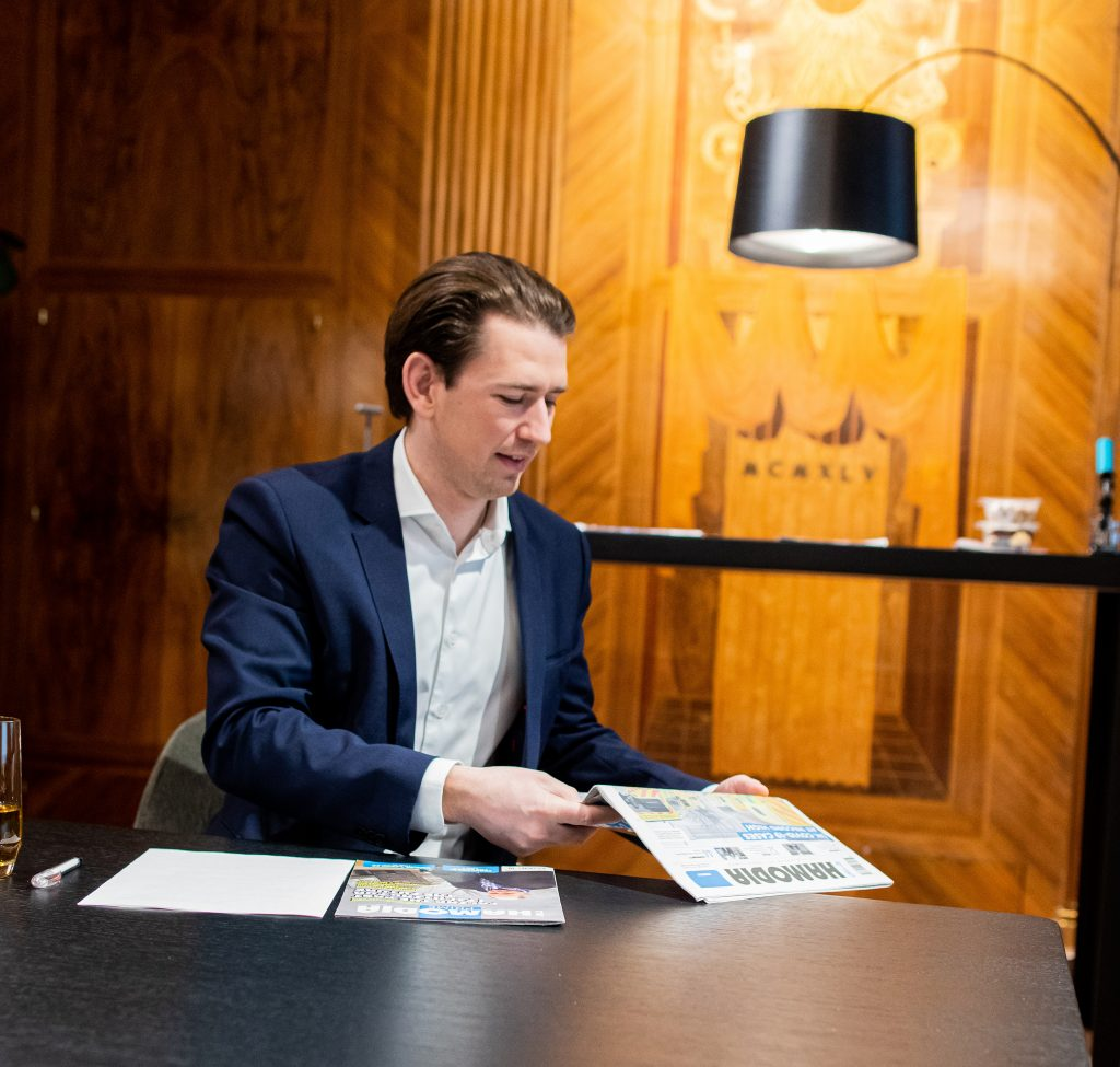 sebastian kurz interview