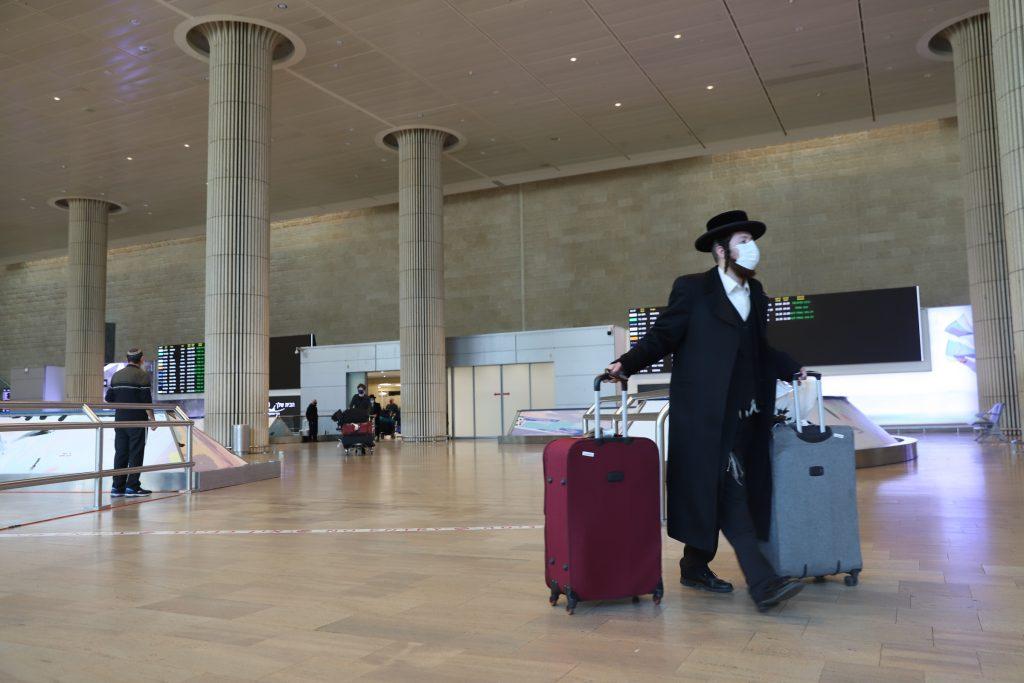 ben gurion airport covid
