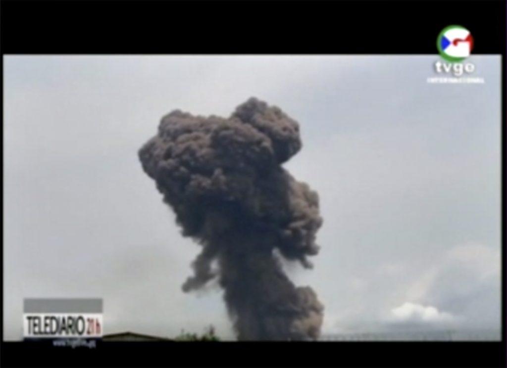 guinea explosion
