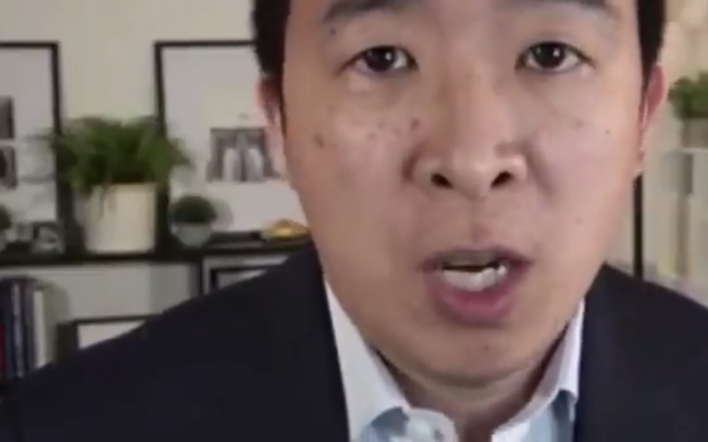 andrew yang bds