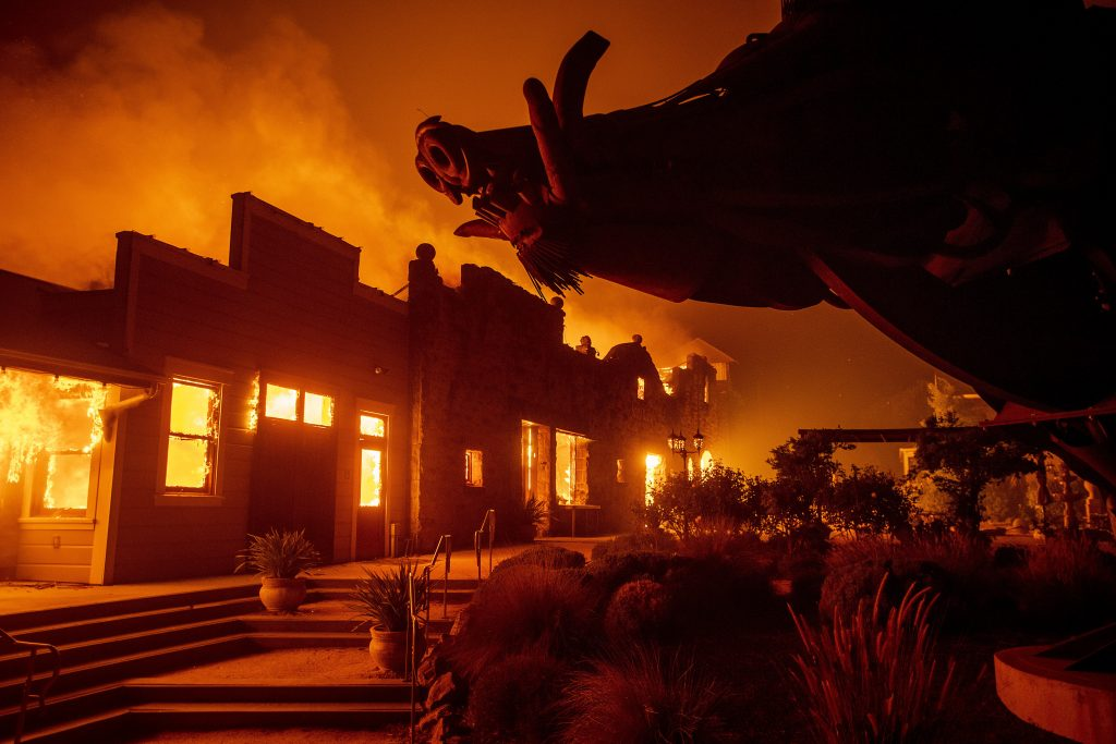 PG&E charged wildfires