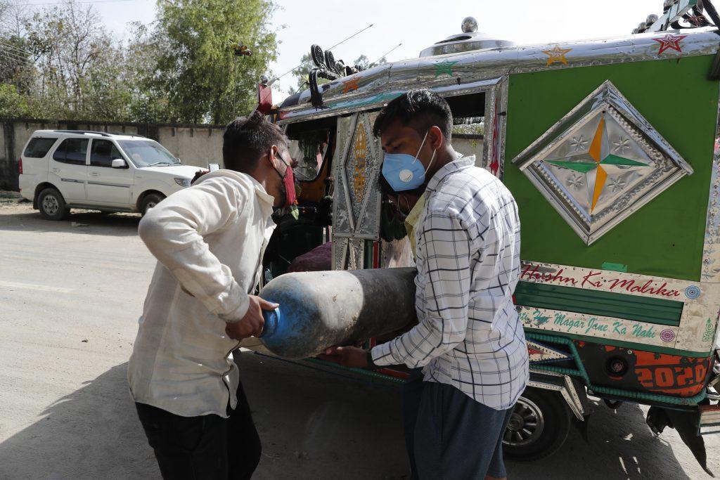 covid india oxygen
