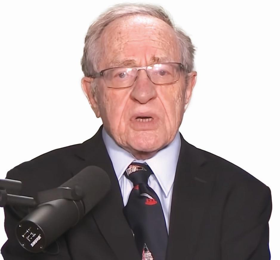 dershowitz chauvin