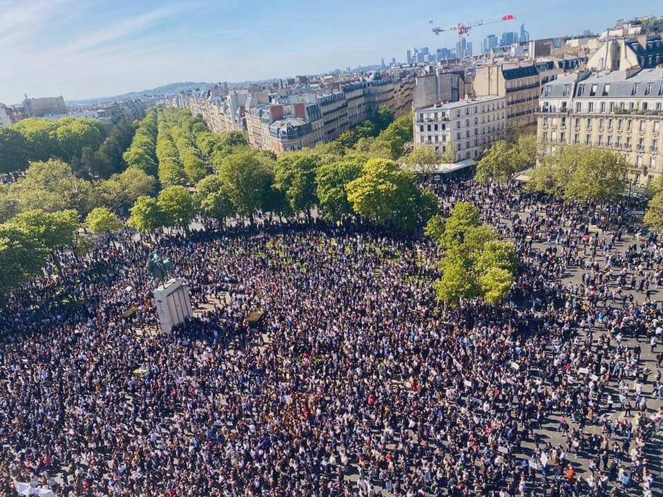 protests france anti-semitism