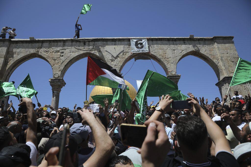 palestinian protest al aqsa