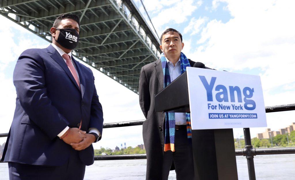 new york mayoral race israel