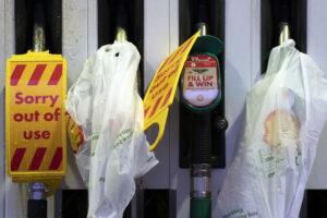 u.k. gas shortage