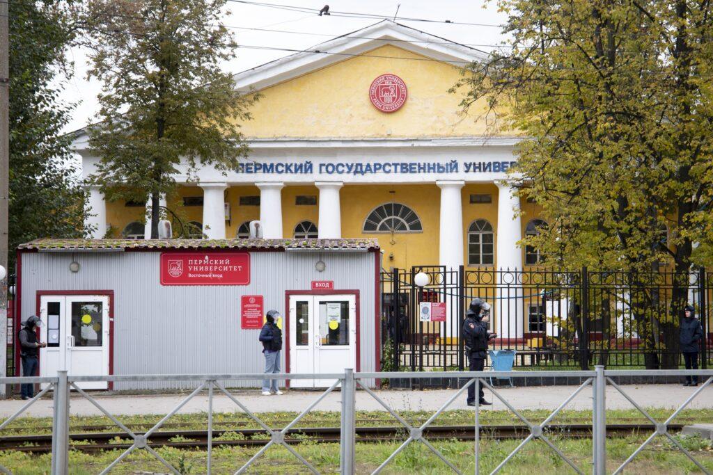 shooting at russian university