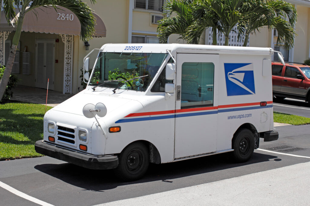 postal service slowing mail