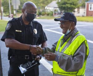 crossing guard 100th birthday